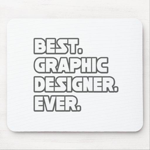 Best Graphic Designer Ever Mouse Mat