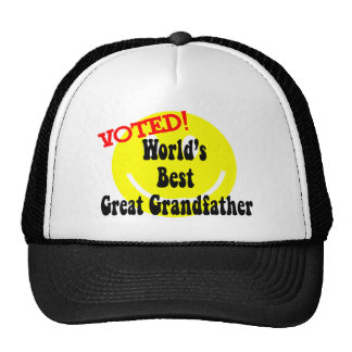 Best Great Grandfather Hats