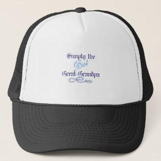 Best Great-Grandpa Trucker Hat