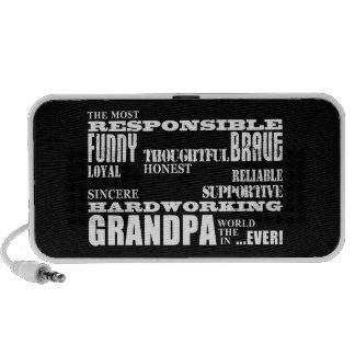 Best & Greatest Grandfathers & Grandpas Qualities Mini Speakers