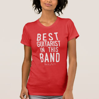 Best Guitarist (maybe) (wht) T-Shirt