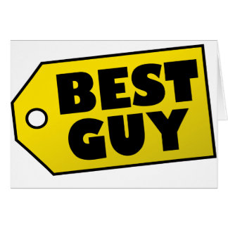 Best Guy Greeting Card