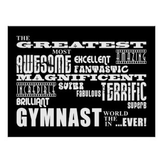 Best Gymnasts : Greatest Gymnast Poster
