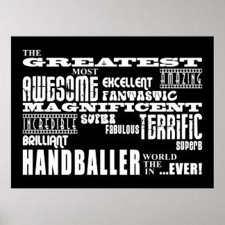 Best Handballers : Greatest Handballer Print