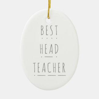 Best Head Teacher Phonics Christmas Decoration* Christmas Ornament