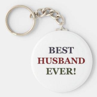 Best Husband ever Basic Round Button Key Ring