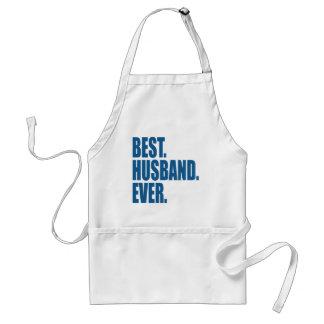 Best. Husband. Ever. (blue) Aprons