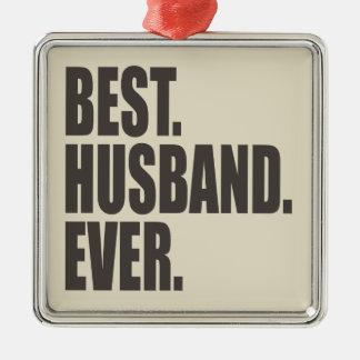 Best. Husband. Ever. Christmas Ornament