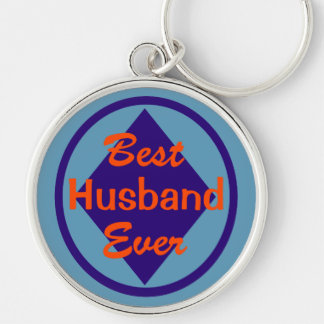 Best Husband Ever Deluxe Keychain