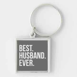 Best Husband Ever Grey Key Chains