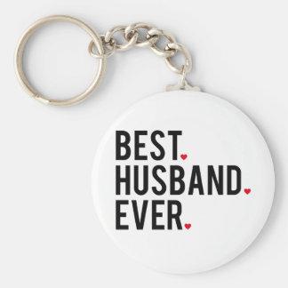 Best husband ever keychain