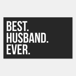 Best Husband Ever Rectangular Sticker