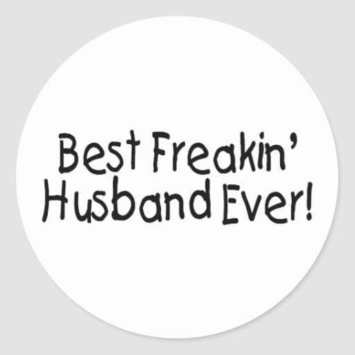 Best Husband Ever Stickers