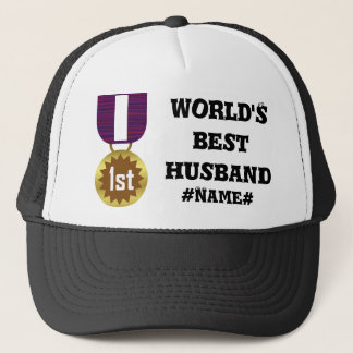 Best Husband Personalized Trucker Hat