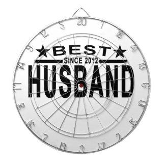 Best HUSBAND Since 2012 Tshirt '.png Dartboards