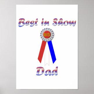 Best In Show Dad (Rosette) Print