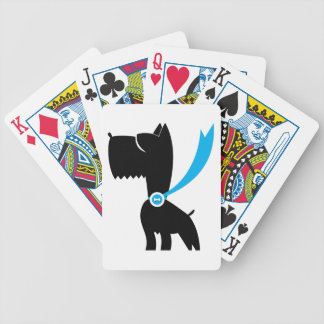 Best in Show Scottie Dog Poker Cards
