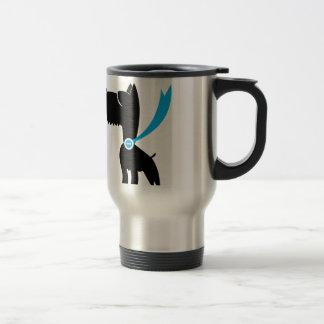 Best in Show Scottie Dog Stainless Steel Travel Mug