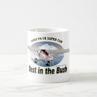 Best in the Bush - Super Cub Classic White Coffee Mug