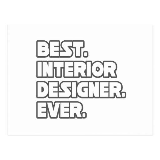 Best Interior Designer Ever Post Cards