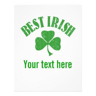 Best Irish - Customize your text Personalized Flyer