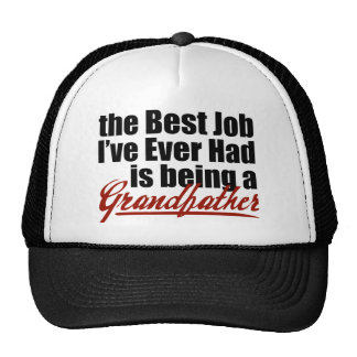 Best Job is Being a Grandfather Cap