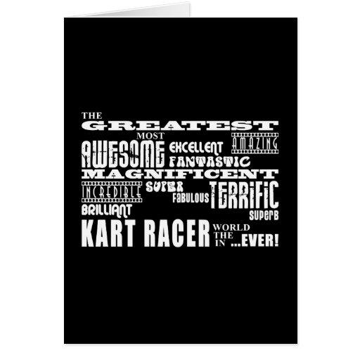 Best Kart Racers : Greatest Kart Racer Greeting Card