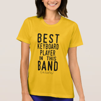 Best Keyboard Player (probably) (blk) T-Shirt