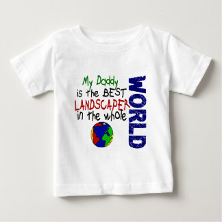 Best Landscaper In World 2 (Daddy) Baby T-Shirt