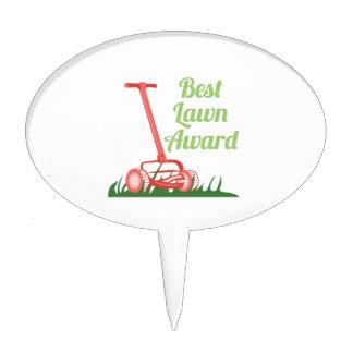 Best Lawn Award Cake Topper