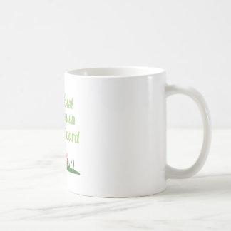 Best Lawn Award Coffee Mugs