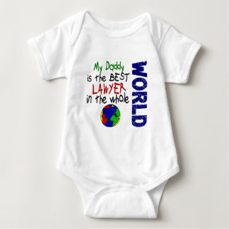 Best Lawyer In World 2 (Daddy) Baby Bodysuit
