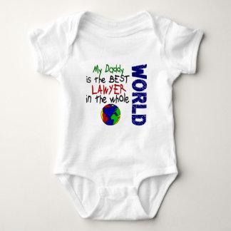 Best Lawyer In World 2 (Daddy) Baby Bodysuit