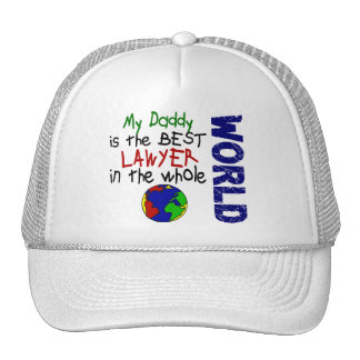 Best Lawyer In World 2 Daddy Mesh Hats