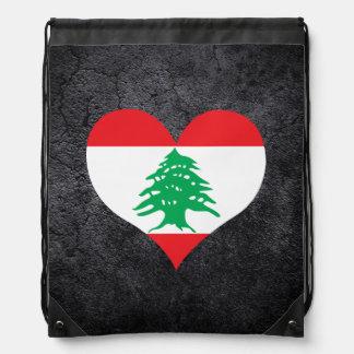 Best Lebanese Heart flag Backpacks