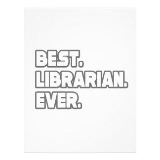 Best Librarian Ever 21.5 Cm X 28 Cm Flyer