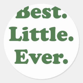 Best Little Ever Round Sticker