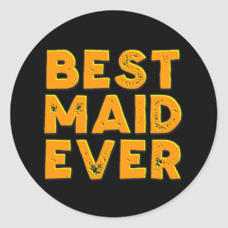 Best maid ever stickers