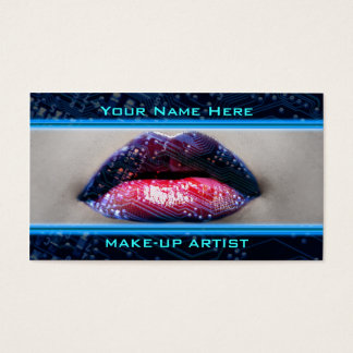 Best Make-Up Technology Business Cards