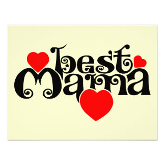 Best Mama Personalized Announcements