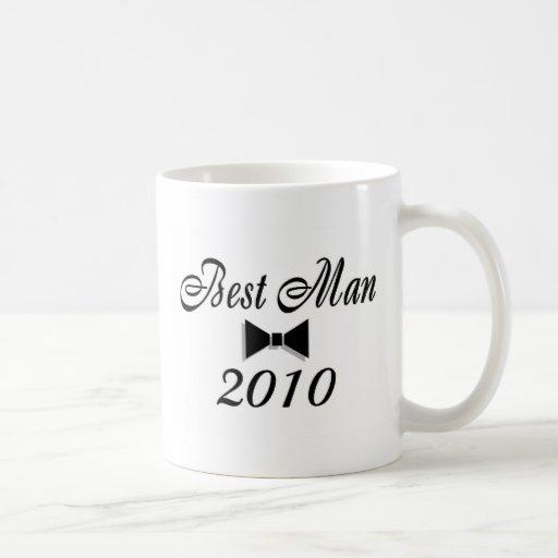 Best Man 2010 Bow Tie Coffee Mugs