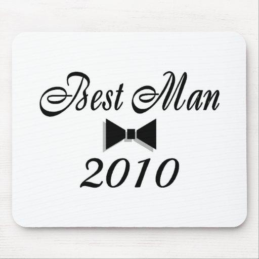 Best Man 2010 (Bowtie) Mousepad