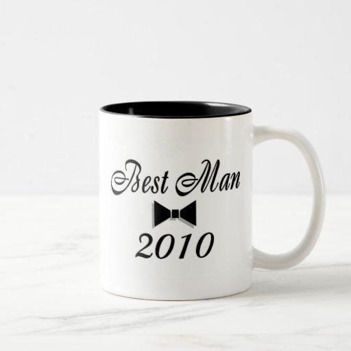 Best Man 2010 (Bowtie) Mug