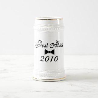 Best Man 2010 (Bowtie) Coffee Mug