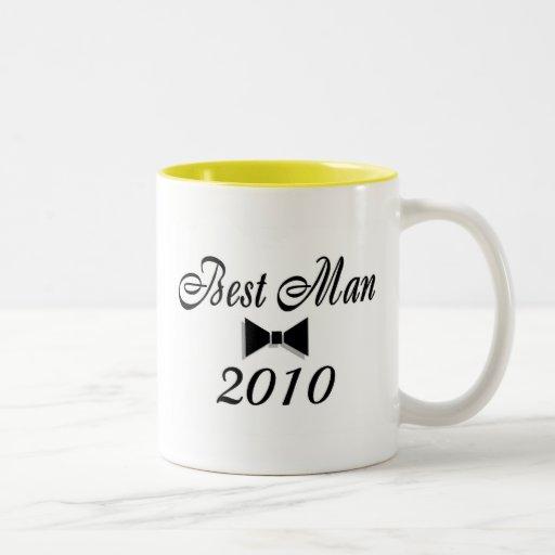 Best Man 2010 Coffee Mugs