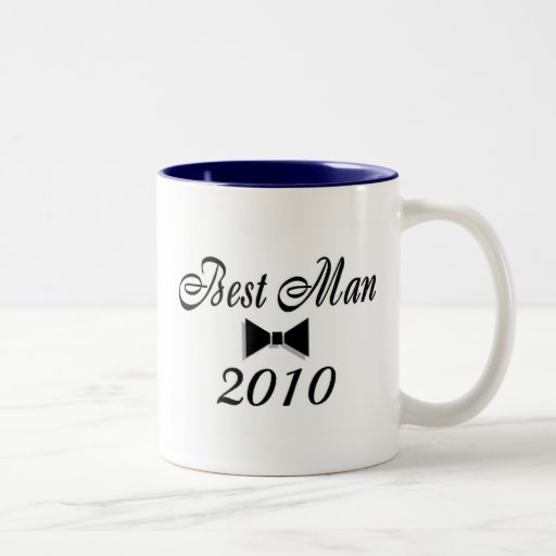 Best Man 2010 Coffee Mug
