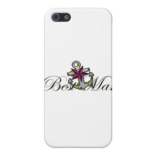 Best Man Anchor Cover For iPhone 5