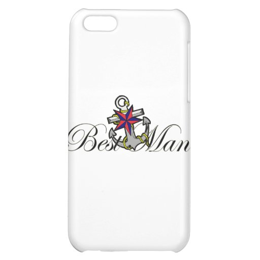 Best Man Anchor iPhone 5C Covers