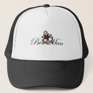 Best Man Anchor Trucker Hat