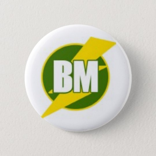 Best Man B/M 6 Cm Round Badge